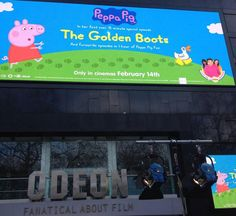 Our winner Elizabeth Hobbs, has kindly shared her fabulous day at the Peppa Pig Premiere of Golden Boots at the Odeon Leicester Square on Sunday 1st February.Their exciting day is captured in her...