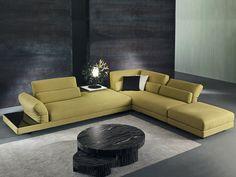 Corner recliner sofa COX by Divanidea