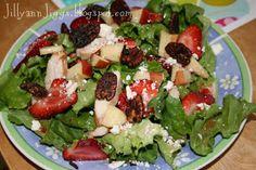 Jillyann Jiggs: Recipe: Chicken Strawberry Salad