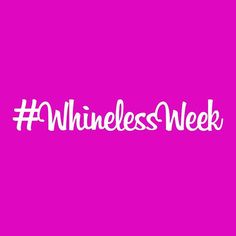 Commit & challenge others! Who's in? #attitude #asenne #whinelessweek