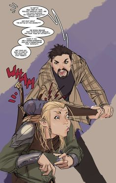 I kinda liked Legolas being there, but its true... TOO MUCH!!