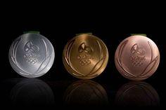 Así serán las medallas de los Juegos Olímpicos de Río