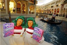 Wonka launches new candy store in Las Vegas. The name of the store is It'Sugar    Isaac Brekken/AP Images for Wonka