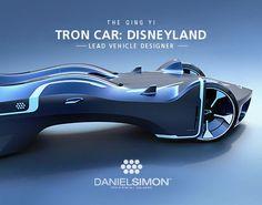 "Check out this @Behance project: ""Tron Car for Shanghai Disneyland by Daniel Simon"" https://www.behance.net/gallery/43406663/Tron-Car-for-Shanghai-Disneyland-by-Daniel-Simon"