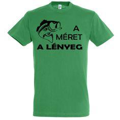 Méret a lényeg horgász póló kelly green Mens Tops, T Shirt, Supreme T Shirt, Tee Shirt, Tee