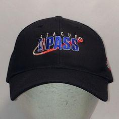 f21ab354d07 Vintage League Pass NBA Hat Black Blue Basketball Dad Hats For Men Caps T10  JL8017
