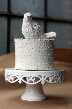Susannah Tisue, ceramic cake stand