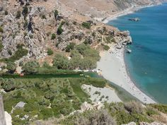 Preveli Palm Beach, Southern Crete, Greece - 16 Aug 2010