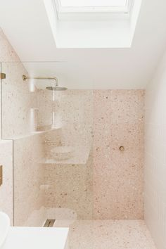 The Loft, a tale of the ultimate six-month drab-to-fab beach makeover. - Fibonacci Stone Bathroom Inspo, Bathroom Styling, Bathroom Inspiration, Home Decor Inspiration, Earthy Bathroom, Bathroom Ideas, Ensuite Bathrooms, Bathroom Renos, Laundry In Bathroom