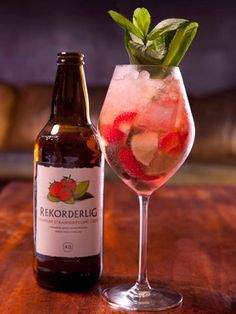 Rekorderlig Summer Cup - The clever chaps at Rekorderlig cider have put together this fresh and fruity cocktail recipe for the perfect summer drink #Cocktail #Recipe #fridayclub