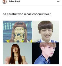 If TaeNie is the Gucci Couple, here's LisKook as Coconut Head Couple XD