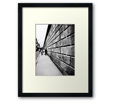 'Street Lines' Framed Print by nath-gary Line Photography, Line S, Chiffon Tops, Perspective, Framed Prints, Urban, Architecture, Street, People