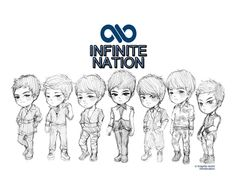 Infinite nothings over gifs | Infinite ~chibi | K-pop for My Soul ^^
