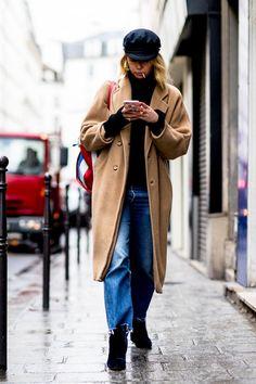 "Street style : quand les ""eighties"" inspirent les élégantes..."