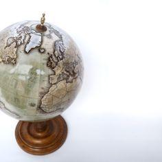 Bellerby & Co Globemakers, Livingstone Globe Floor Globe, Desk Globe, World Globes, Livingstone, Luxury Interior Design, Bespoke, Watercolour, Christmas Bulbs, Hand Painted