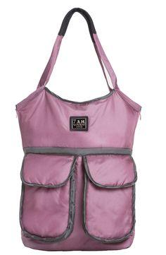 Barcelona Bag in Metallic Lilac
