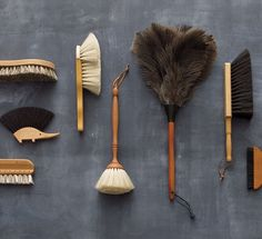 clean slate- non-plastic [& pretty!] cleaning tools