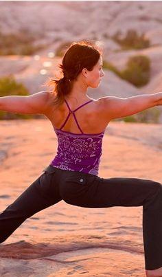 Athleta Mayarasana Seamless Cami. Great for yoga