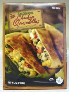 What's Good at Trader Joe's?: Trader Joe's Southwest Chicken Quesadillas cook in oven or on stove