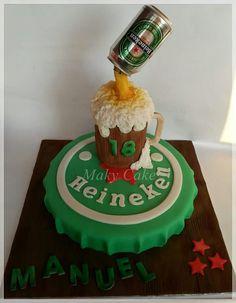 Heineken cake torta per un diciottesimo