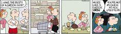 Aging. Drabble on GoComics.com #humor #comics #aging