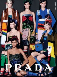 Preview: Prada Spring/Summer 2014 Campaign by Steven Meisel