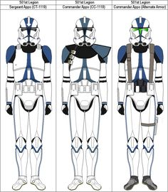 The Trailblazer Company was assigned to Jedi General Ra'ven Ki't'sune during the first year of the Clone Wars. Star Wars Pictures, Star Wars Images, Clone Trooper Helmet, Star Wars Timeline, Star Wars Drawings, 501st Legion, Star Wars Models, Galactic Republic, Star Wars Baby