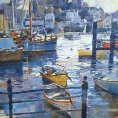 Chris Forsey RI Originals and Limited Editions at Dart Gallery, Devon Watercolor Landscape, Landscape Paintings, Watercolor Paintings, Original Paintings, Abstract Paintings, Watercolours, Oil Paintings, Painting Art, Large Scale Art