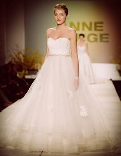 Anne Barge #wedding #gown #bride
