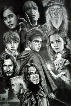 Harry Potter (2001-2011) ~~ Adventure   Family   Fantasy ~~ Journey beyond your imagination ~~ Artwork by Julie Ann Floresrn
