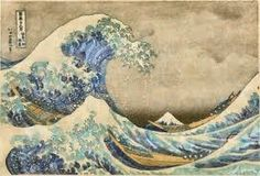 Image result for japanese wave painting
