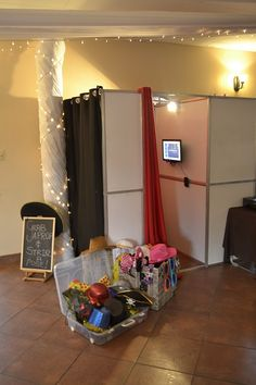 Photo booth and props at Klip River Country Estate