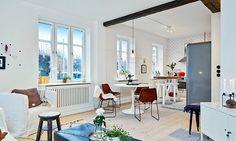 Dit Scandinavische appartement zit vol met industriële en vintage eye-catchers - Roomed | roomed.nl