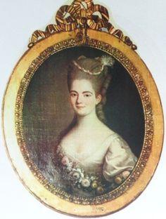 Dame Élisabeth Flavie Marie Louise de Chastenet de Puységur, Comtesse d'Aunay (1752-1789).