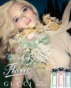 Abbey Lee Kershaw, Next Model Management     Flora by Gucci Fragrance     Photographer, Solve Sundsbo