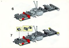 LEGO 5590 Whirl and Wheel Super Truck instructions displayed page by page to help you build this amazing LEGO Model Team set Lego Basic, Lego Sets, Lego Technic Truck, Lego Models, Lego Instructions, Planer, Projects To Try, Trucks, Christmas Ornaments
