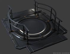 Futuristic modular scifi building [CryEngine3] - 3DTotal Forums