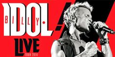 Billy Idol - E Steve Stevens due date in Italia a giugno 2014