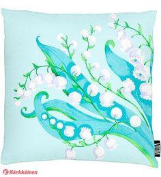 Vallila Kielo tyynynpäällinen via Karkkainen.com Kielo, Tapestry, Artwork, Inspiration, Design, Bedroom, Home Decor, Hanging Tapestry, Biblical Inspiration