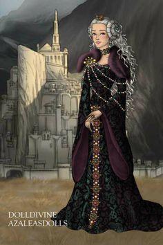 Berliyaenne ~ by Inanna ~ created using the LotR Hobbit doll maker | DollDivine.com