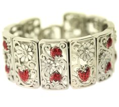 Strawberry Bracelet from Arts and Crafts