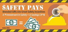 Safety Pays: Branded Gifts Are Great Safety Incentives