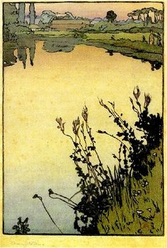 Frank Morley Fletcher (British, 1866–1950). Meadowsweet. 1897.