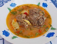 Bunătăţi din bucătăria Gicuței: Ciorba cu gaturi de curcan Pot Roast, Beef, Meals, Ethnic Recipes, Food, Carne Asada, Meat, Roast Beef, Meal