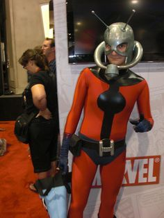 Antman, photo by Master Magnius, from San Diego Comic Con.