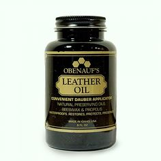 Hare + Hart  Leather conditioning oil, makes is so buttery soft, while repelling water as well. Amazing!