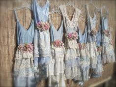 Bridesmaid dress-Eco- Fabulous CUSTOM MADE Tea Party. $130.00, via Etsy.