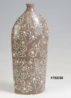 Váza Flora smetanová