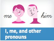 Do #pronouns confuse you? If so, read this quick tutorial from GCFLearnFree.org to set everything straight. #grammar