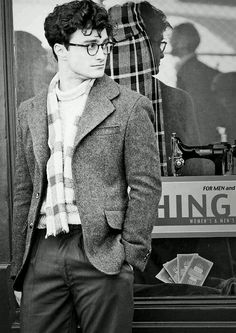 "Daniel Radcliffe in ""Kill your Darlings"""